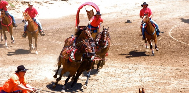 Chuckwagon races nashua iowa